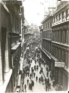 Throgmorton Street, City of London, 1920.