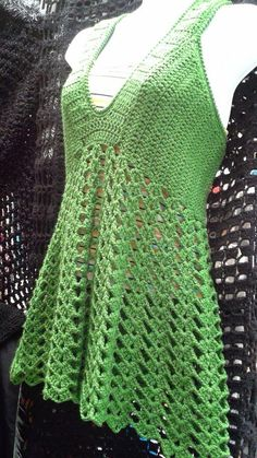 + Crochet Blouses - Everything About Knitting Crochet Tank Tops, Crochet Summer Tops, Summer Knitting, Crochet Cardigan, Easy Knitting Patterns, Crochet Cover Up, Crochet Shawls And Wraps, Crochet Woman, Lace