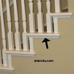 Beau Wood Trim Ideas | ... . This Wood Trim Comes In A Variety Of. Staircase  MoldingStairs ...