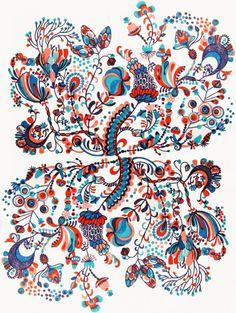 prints of rubber ereaser Cute Images, Botanical Illustration, Printmaking, Illustrators, My Arts, Graphic Design, Wilderness, Floral, Flowers