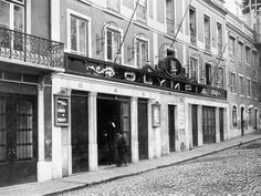 O Rato Cinéfilo: AS SALAS DE CINEMA DE LISBOA Old Pictures, Old Photos, Vintage Photos, Olympia, Old London, Lisbon Portugal, Old City, Movie Theater, Back In The Day