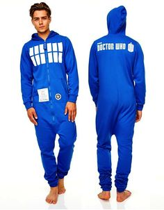 You Can Be The TARDIS With This Onesie
