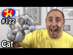 Cat - Balloon Animal Lessons #122 - YouTube