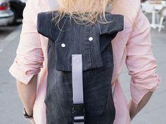 DIY-Anleitung: Elefantenrucksack aus alter Jeans nähen via DaWanda.com