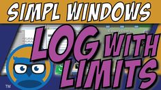 Crestron SIMPL WIndows LOG WITH LIMITS Symbol Tutorial - Go to http://www.overworkedlogic.com/ for some great free Crestron Programming Tutorials!