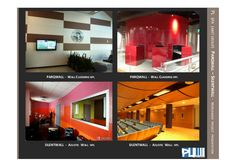 Parqwall, silentwall  wall cladding    worldwide project by pl spa (abet group) by Renato Viganò via slideshare