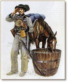1st virginia cavalry shell jacket