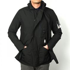 Stone Island Shadow Project – Gore-Tex Paclite Stealth Trench Coat