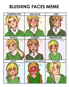 24c20e3c4a1a14792050297bdd6bed0a blushing face creepypasta meme of the ages blank by pentamerone deviantart com on