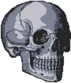 skully cross stitch