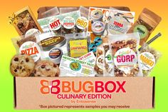 Culinary Bug Box