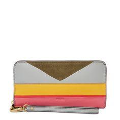 Grand porte-monnaie zippé Emma RFID