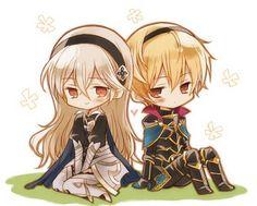 Fire Emblem If/ Fates - Leon and Kamui