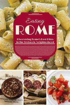 Find Rome's best eats with Eating Italy Food Tours  Visit http://travelwithmeraki.com/ for more travel inspiration