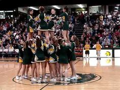 Cheer Stunt: Merry-Go-Round, Reload to Falls, our version