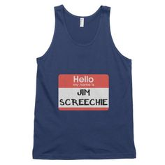 Jim Screechie - Classic men's tank top - Properttees