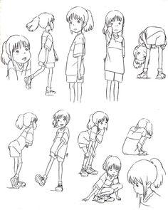chihiro concept art - Pesquisa Google