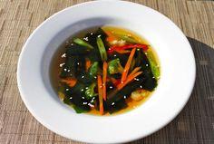 Receta de Sopa de Algas