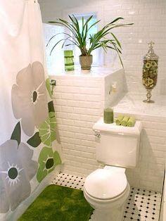 Salle de bain on pinterest porte bijoux toilet ideas - Deco pour salle de bain ...