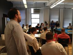 All of Schoology's employees came together for the '3rd Quarter Schoology Onsite 2012'.