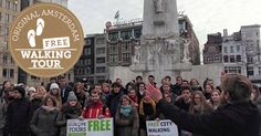 #AmsterdamToursforFree – Find Tour Guide at a Certain Meeting Point