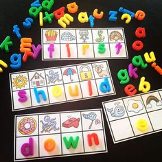 Sight words activities that are so much fun - figure out the initial sound to build each sight word - 335 sight words included!!