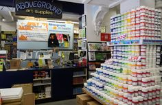 Aboveground Art Supplies just might be the largest art supply store in Toronto. Located steps from OCAD, the store is stocked full of paint, brushes, canvases, paper and other art supplies over two floors in a building that dates back to 1887.  Aside from its prime location (well, if you're an...