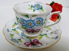English Royal Albert Bone China 'Morning Glory'