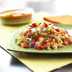 Bulgur Salad http://www.prevention.com/food/10-lettuce-free-salad-recipes/bulgur-salad
