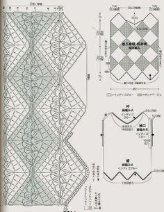 DERYA BAYKAL ÖRGÜ FANLARI: Tığ işi bluz ve şeması