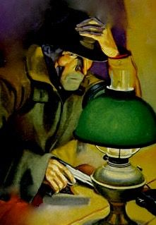 THE SHADOW PULP MAGAZINE COVER CRIME COUNTY