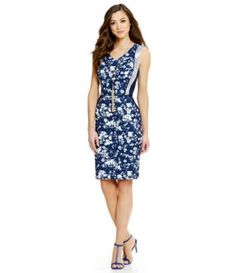 4ef2803fb90 Shop for Antonio Melani Lace Floral-Print Twill Dress at Dillards.com. Visit  Dillards.com to find clothing