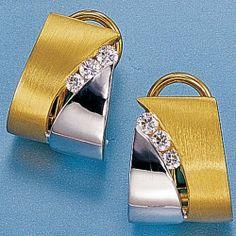 Accessories, Ear Jewelry, Stud Earring, Yellow, Ear Piercings, Women's