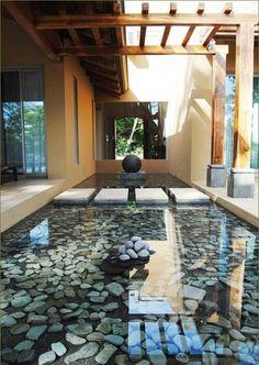 20 Wonderful Indoor Ponds