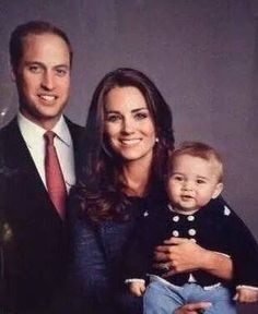 William, Kate and George (From the New Zealand tour)