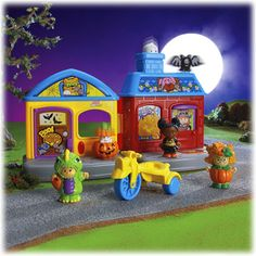 Little People® Trick-or-Treat Surprise™ - Shop Little People Toddler Toys   Fisher-Price