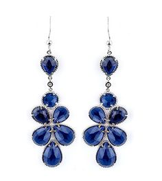 Capri Jewelers Arizona ~ www.caprijewelersaz.com Michael M. Fashion Jewelry Sapphire and Diamond Earrings SER115M