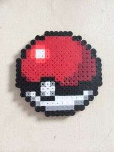 Pokeball Perler Bead  1 Pokeball by PokeSprites on Etsy, $3.00