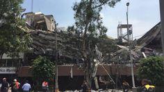 Edificios a punto de colapsar - En la delegación Cuauhtémoc hay 26 edificios derrumbados, mientras que 23 estén en riesgo de caer, s...
