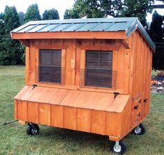 4x6 Chicken Coop~ Sun Hill Barns