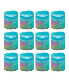 Look what I found on #zulily! Color-Changing LED Votive Candle - Set of 12 #zulilyfinds