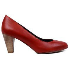 Pantofi din piele naturala Rosso