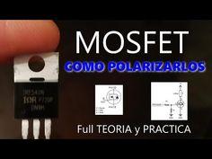 ✅ MOSFET COMO POLARIZARLOS CON MICROCONTROLADORES / 4 VALORES A TENER EN CUENTA EN SU DATASHEET - YouTube