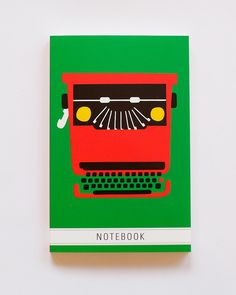 Notebook Typewriter by Andreas Samuelsson.