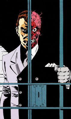 The Batman | failed-mad-scientist:  Two-Face - Tim Sale