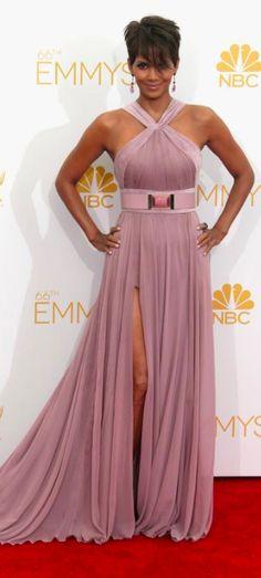 Halle Berry | Ellie Saab | Emmys 2014| DRESS| FASHION | M E G H A N ♠ M A C K E N Z I E