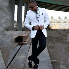 Custom made men suit 2019 noivo s… Sharp Dressed Man, Dressed To Kill, Well Dressed Men, Mens Fashion Suits, Men's Fashion, Mens Suits, Stylish Men, Men Casual, Moda Formal