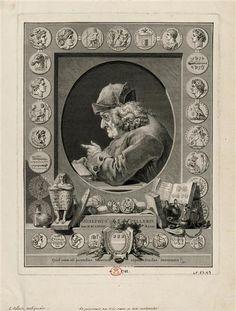 Augustin de Saint-Aubin, Jean Guillaume Boichot   Joseph Pellerin, seigneur de Plainville (1684-1782), antiquaire, numismate   1781 Joseph, Saint Aubin, Grand Palais, Shadowrun, Sculpture, Belle Photo, Oeuvre D'art, Les Oeuvres, Past