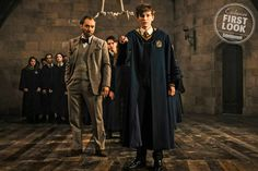 First look at Young Newt in <em>Fantastic Beasts: The Crimes of Grindelwald</em>