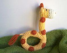 Baby Giraffe Rattle via Craftsy